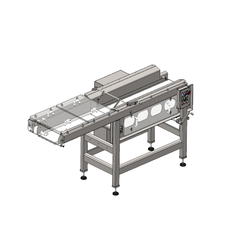 retractable conveyor machinery food processing packaging industry